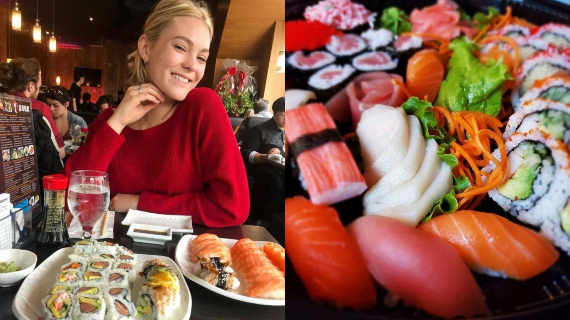 4 endroits où déguster des sushis à volonté à Montréal!