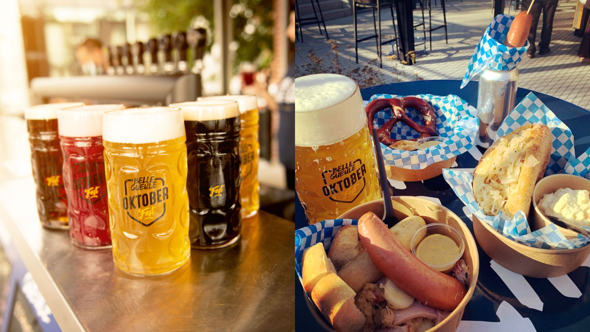 L'Oktoberfest débarque dans la plus grande terrasse du Plateau Mont-Royal et ça s'annonce complètement fou!