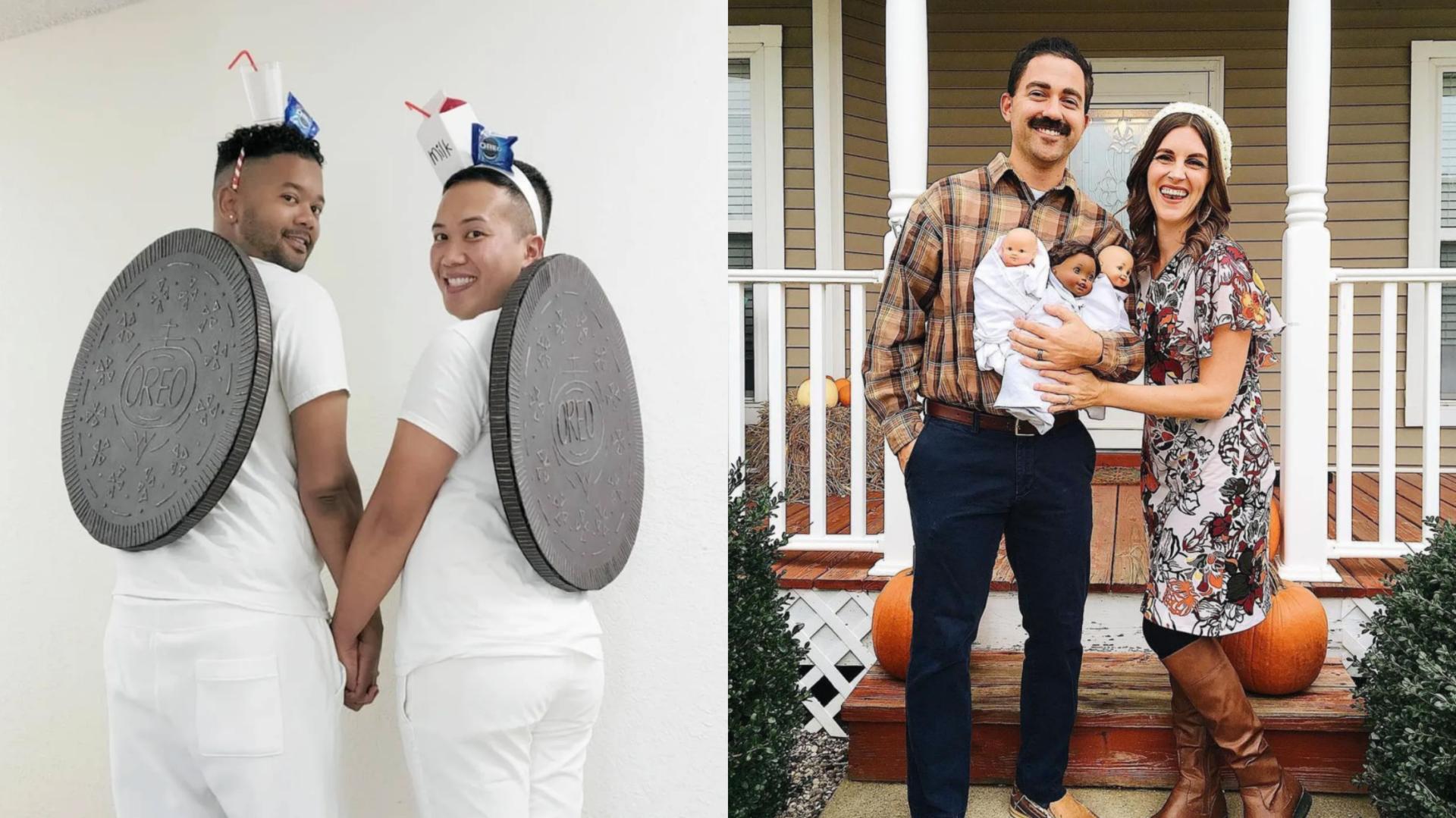 21 idées de costumes de couple pour l'Halloween!