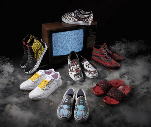 Vans dévoile sa collection inspirée de l'Halloween!